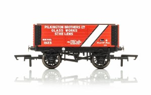 OO Gauge 6 Plank Wagon Pilkington Bros. 1923 Era 3 - R6870