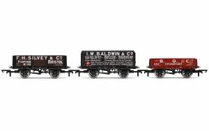 OO Gauge Plank Wagons, Three Pack, Various Era 3 - R6882