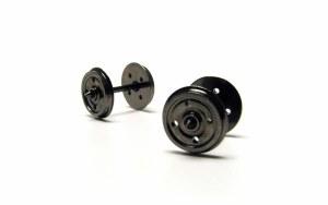 OO Gauge 14.1mm 4 Hole Wheels - R8234