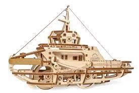 Tugboat Mechanical Model