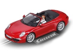 Digital 132 Porsche 911 S Cabriolet, Red - 30772