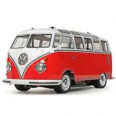 1:10 Tamiya VW Type 2 (T1) Red & White Body (M-06 Chassis) Kit- T47420