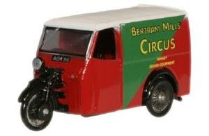 1:76 Scale Bertram Mills Tricycle Van - 76TV001
