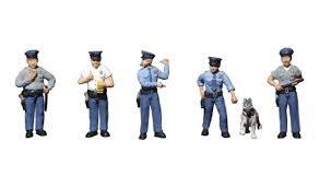 HO Gauge Policemen - 785-1822