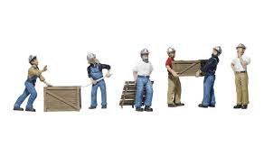 HO Gauge Dock Workers - 785-1823