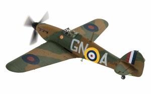 1:72 Scale Hawker Hurricane Mk.1 P3576 (GN-A)  Flight Lieutenant James Brindley Nicolson (VC) - AA27605
