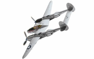 1:72 Scale Lockheed P-38J Lightning L.E. Blumer France 1944 - AA36613