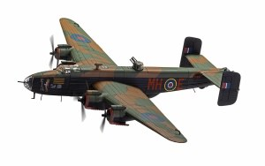 1:72 Scale Handley Page Halifax B.III LV937/MH-E 'Expensive Babe' 1945 - AA37209