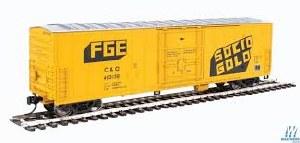 HO Gauge 50' FGE Insulated Boxcar Chesapeake & Ohio #403136 - 910-2030