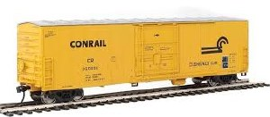 HO Gauge 50' FGE Insulated Boxcar Conrail #360604 - 910-2032
