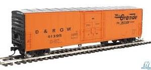 HO Gauge 50' FGE Insulated Boxcar Denver & Rio Grande Western #61395 - 910-2034