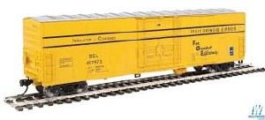 HO Gauge 50' FGE Insulated Boxcar Seaboard Coast Line #497973 - 910-2036