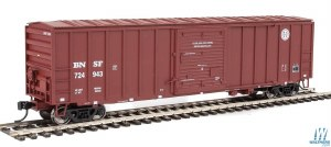 HO Gauge 50' ACF Exterior-Post Boxcar Burlington Northern & Santa Fe #724943 - 910-2168
