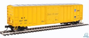 HO Gauge 50' ACF Exterior-Post Boxcar Missouri Pacific/Union Pacific #357102 - 910-2185