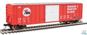 HO Gauge 50' ACF Exterior-Post Boxcar Providence & Worcester #310 - 910-2188
