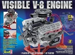 1:4 Scale Visible V-8 Engine - 18883