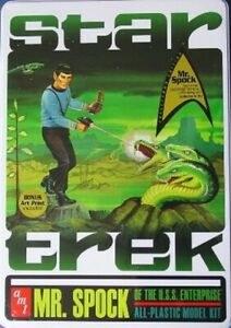 Star Trek Mr Spock of the USS Enterprise - AMT624