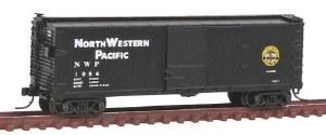 N Gauge USRA 40' Double-Sheathed Box Car NWP #1984 - 50001486