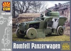1:35 Scale Romfell Panzerwagen - 35002