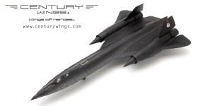 """1:72 Scale SR-71A Blackbird U.S.A.F 9th SRW 61-7972 1990 """"Skunk Works"""" - CW001631"""