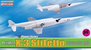 1:144 Scale Douglas X-3 Stiletto, Edwards AFB - DB51028