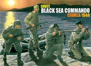 1:35 Scale Soviet Black Sea Commando Crimea 1944 - 6457