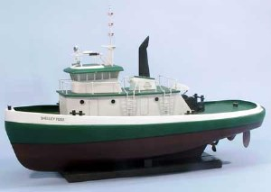 Little Shelley Foss Tugboat Wooden Kit - 1206