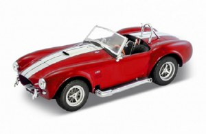 1:24 Scale 1965 Shelby Cobra 427 S/C Red - DW24002R