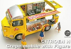 1:24 Scale Citroën H Crepe Mobile with Figure - 25013