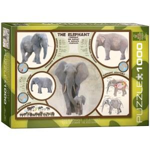The Elephant 1000pcs - 60241