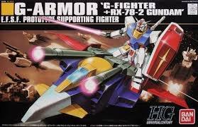 HGUC G Armor (G-Fighter + RX-78-2 Gundam) 1:144 - 129453
