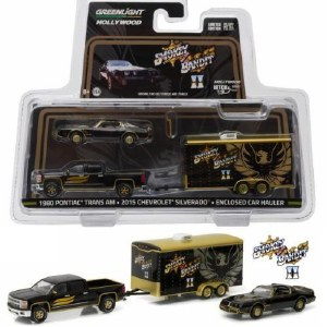 1:64 Scale 2015 Chev Silverado w/1980 Firebird Smokey & The Bandit II - 31010-B