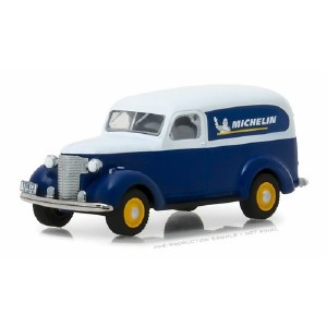 """1:64 Scale 1939 Chevrolet Panel Truck """"Michelin Tires"""" - 41050-B"""