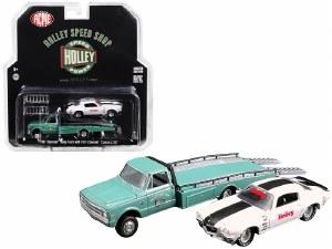 1:64 Scale 1967 Chevrolet Ramp Truck & 1971 Chevrolet Camaro Z/28 - GL51247