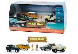 1:64 Scale Waikiki Beach Summer Bash Diorama Set - GL58050