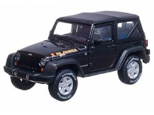 1:43 Scale 2010 Jeep Wrangler Special Islander Edition Black - 86048