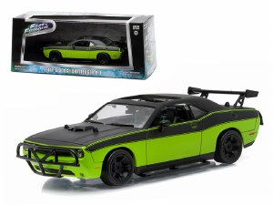 "1:43 Scale Letty's 2014 Dodge Challenger SRT-8 ""Fast and Furious-Fast 7"" - 86230"