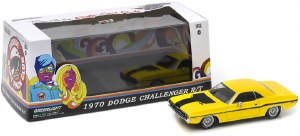 1:43 Scale 1970 Dodge Challenger R/T Yellow - 86303