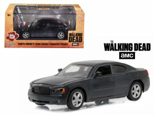 "1:43 Scale Daryl Dixon's 2006 Dodge Charger Police ""The Walking Dead"" (2010-Current) - 86505"