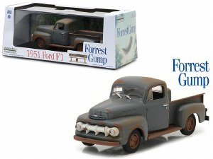 """1:43 Scale 1951 Ford F-1 Pickup Truck (""""Run Forest, Run"""") """"Forest Gump"""" (1994) - 86514"""