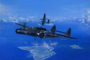 1:48 Scale P-61B Black Widow  Plastic Model Kit - HB81731