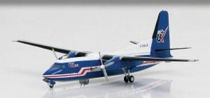 1:200 Scale Fokker F-27 Friendship Air UK G-BAUR - HL1105