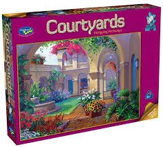 Courtyards: Intriguing Archways 500pcs - HOL096503