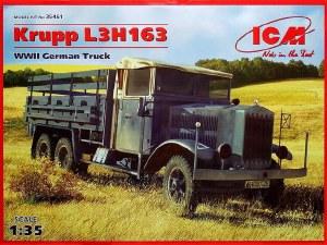 1:35 Scale Krupp L3H163 WW II German Truck - ICM35461