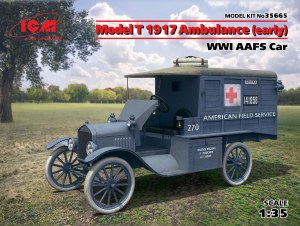 1:35  Model T 1917 Ambulance (early) - 35665