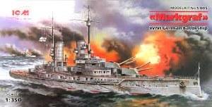 1:350 Markgraf Battleship - S005