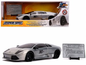 1:24 Scale Lamborghini Murcielago Raw Metal - JA31084