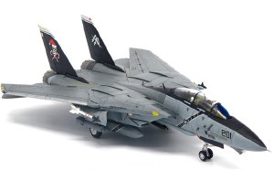 1:72 Scale F-14B Tomcat VF-103 Jolly Rogers Santa Cat - JCW72F14005