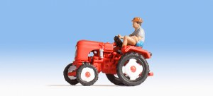 HO Scale Tractor w/Driver - 16755
