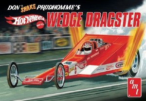 "1:25 Scale Coca Cola Don ""Snake"" Prudhomme Wedge Dragster ""Hot Wheels"""